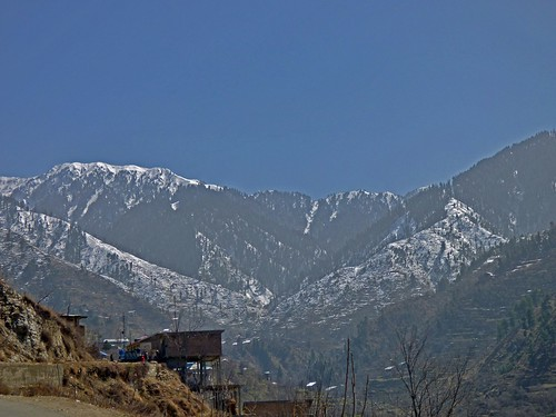Early Spring at Miandam in the Swat Valley, Khyber Pakhtunkhwa Province, Pakistan - March 2014