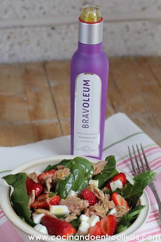 Ensalada de espinacas y fresas www.cocinandoentreolivos (8)