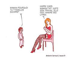 """""""Rowling et la loi des (mini) séries : soigner son look"""", Par Antonin Serraut"""