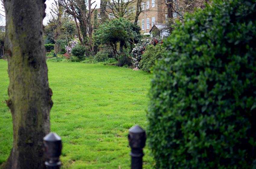 all saints' church garden putney