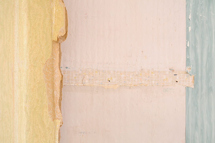 Old Layers of Wallpaper