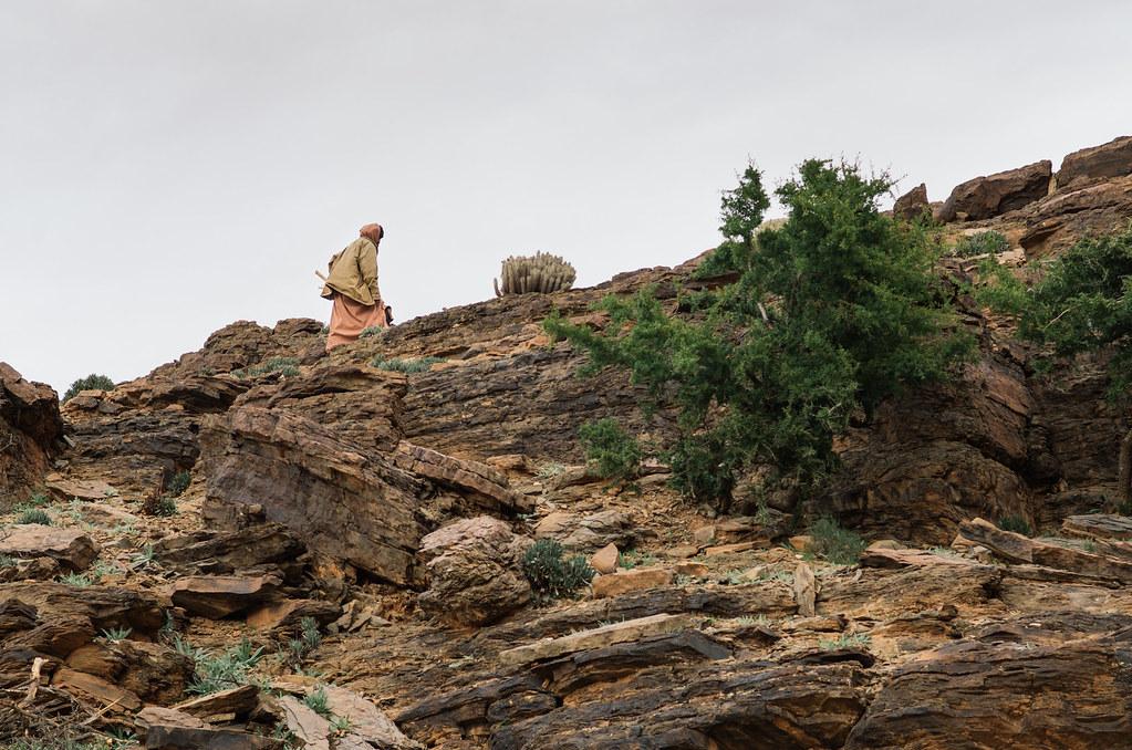 Trek sans guide au Maroc - 5 jours dans l'anti-Atlas - une rencontre