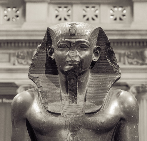 Colossal Statue of a Pharaoh, Egyptian, ca. 1919-1885 BC