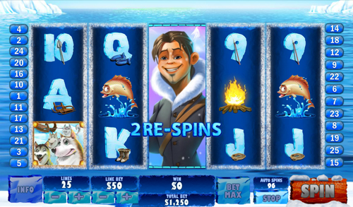 free Ice Run Re-Spin Feature