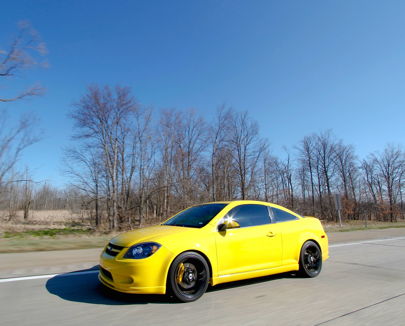For Sale 2009 Cobalt Ss Turbo In Rally Yellow Cobalt Ss