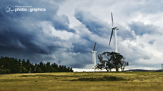Windmills at Hampton, NSW