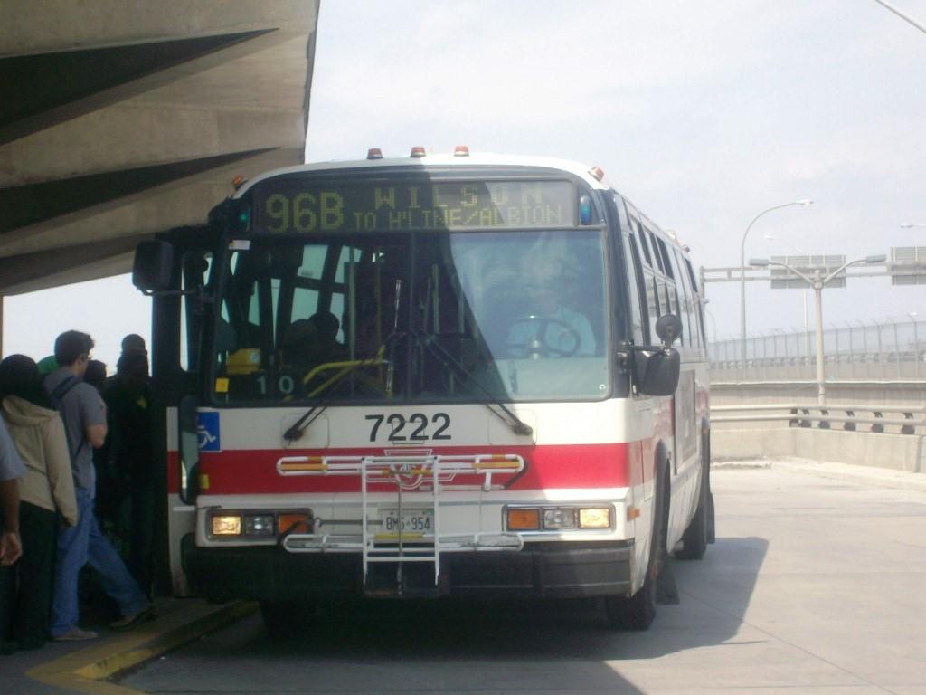 TTC 1998 NovaBUS RTS-06 WFD #7222