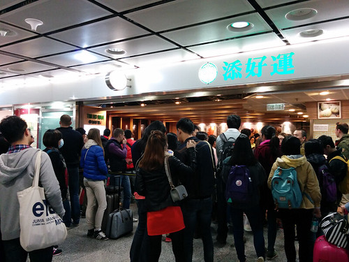 the crowd @ Tim Ho Wan
