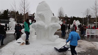 Breckenridge Colorado Snow Sculptures