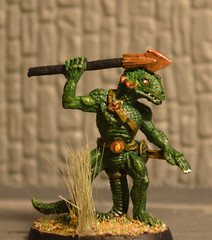 Lizardman With Spear