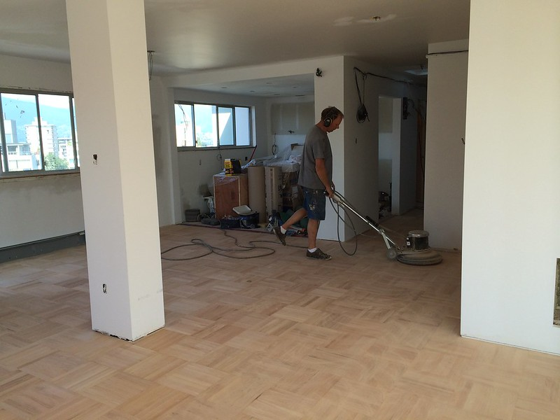 refurbishing Original Hardwood floor-west end penthouse