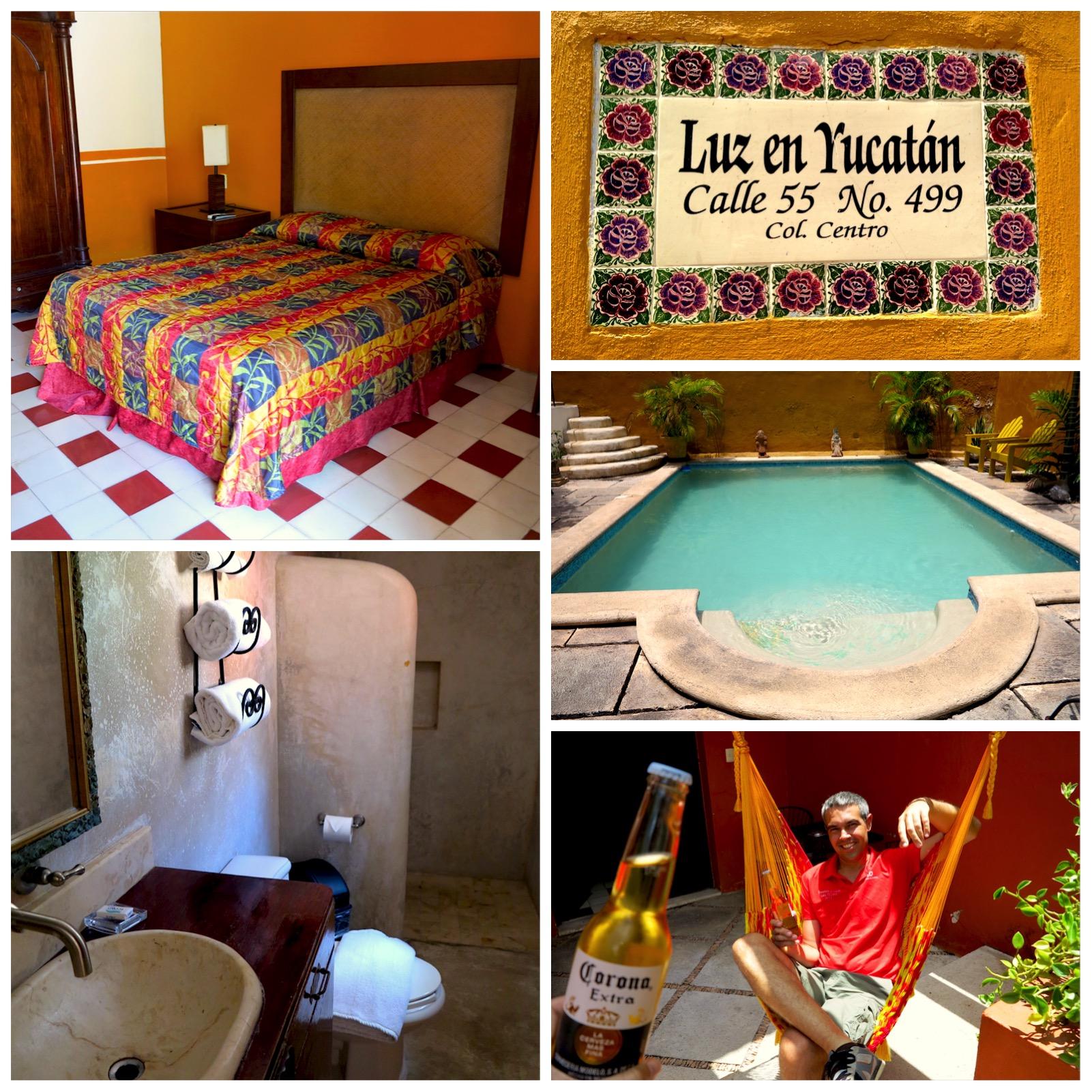 Alojamiento en México Luz en Yucatán