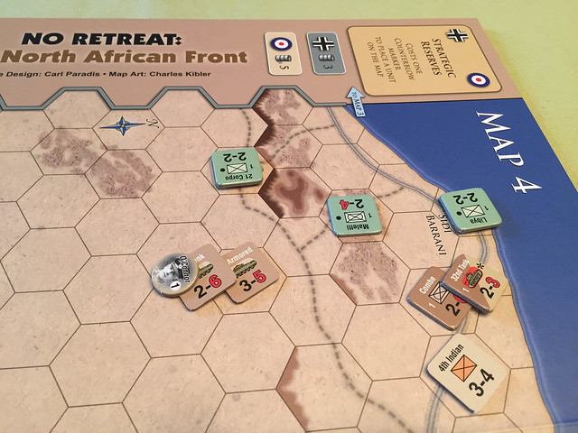 No Retreat: The North African Front, - running off the Italians