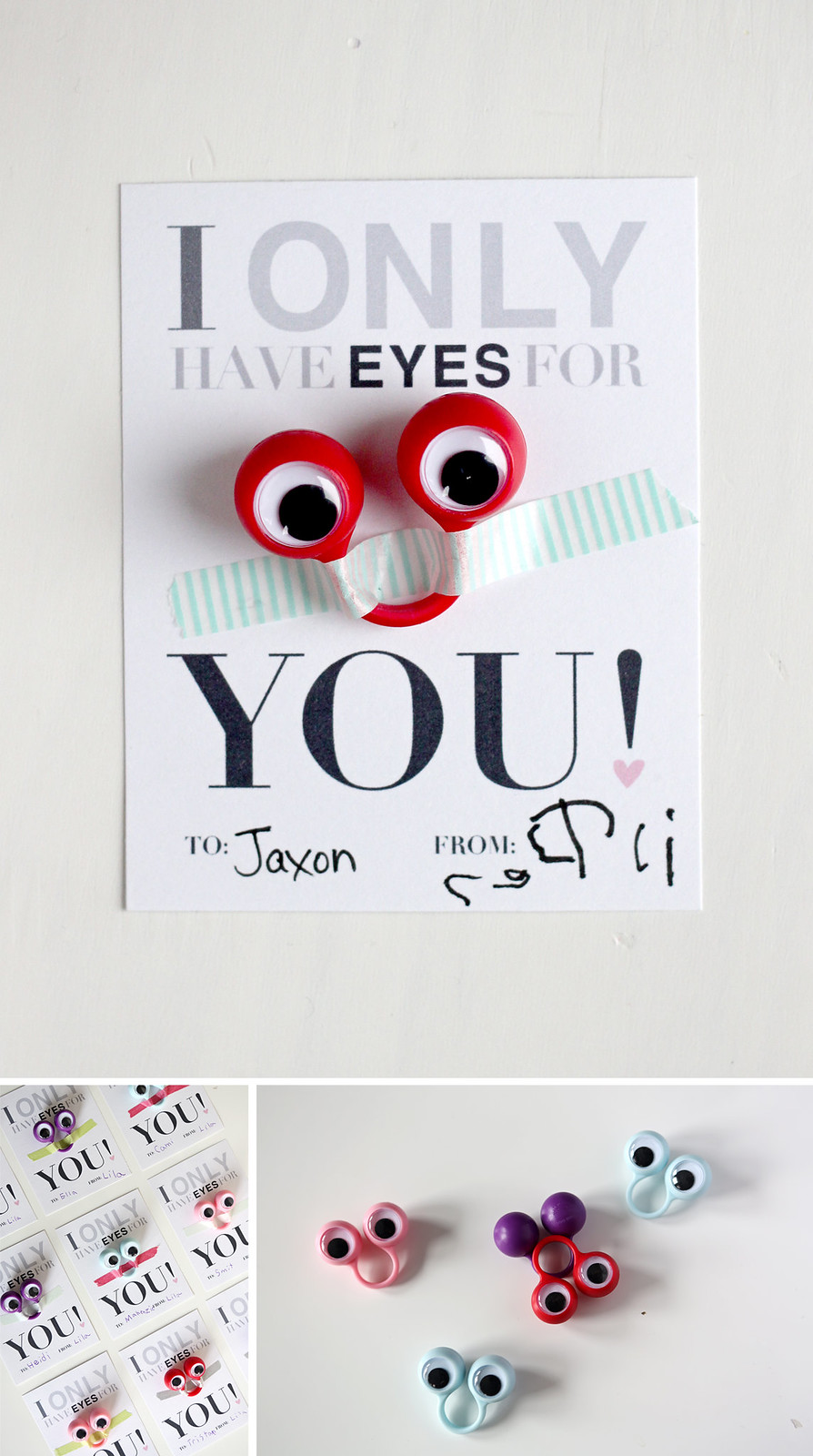 i only have eyes for you - free printable valentine