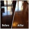 家政夫之年終大掃除 好久沒打臘的原木地板 打完臘後好滑好亮好想躺地上睡午覺