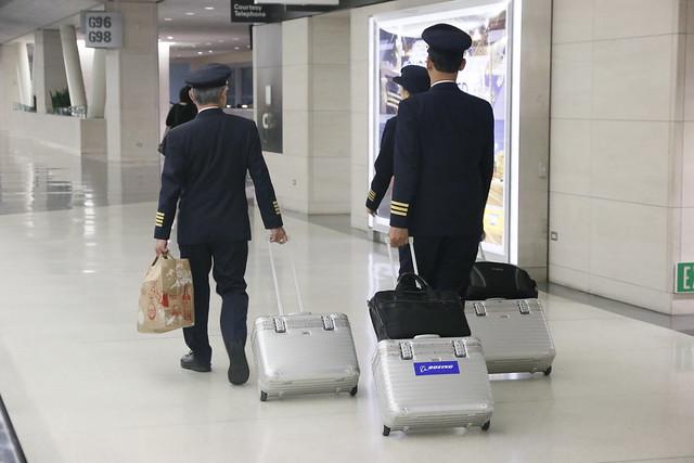 長榮航空機師們 @ SFO