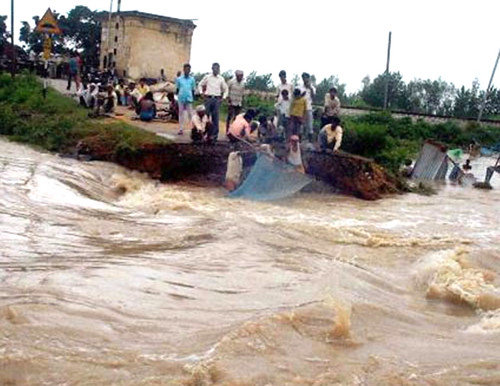 ब से बिहार, ब से बाढ़