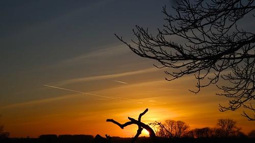 sunset sky sun cielo sole buckingham deadwood