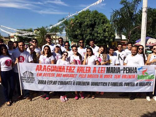 Campanha LEI MARIA DA PENHA.