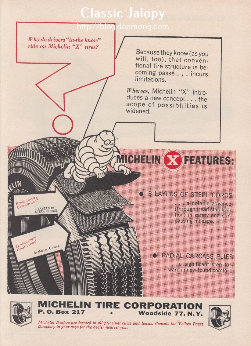 Ad of the week: Michelin Radial X