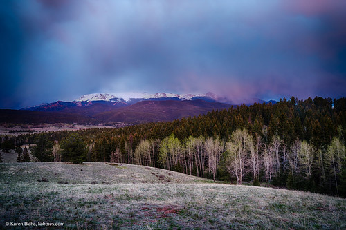 longexposure mountain colorado pikespeak muellerstatepark