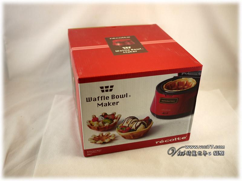 Waffle Bowl 杯子鬆餅機001