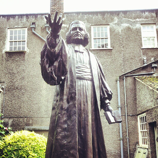 Charles Wesley, 1707-88, New Rooms. #Bristol...
