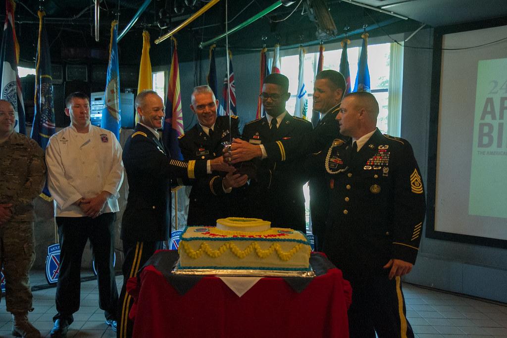 Fort Drum Celebrates 241st Army Birthday   Soldiers, Civilia