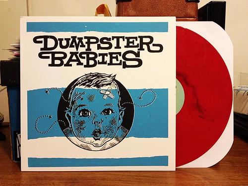 Dumpster Babies - S/T LP - Red Vinyl by Tim PopKid