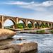 James River Rail Bridge RVA by Sky Noir