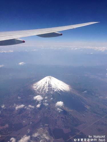 飛機上看見富士山(2)