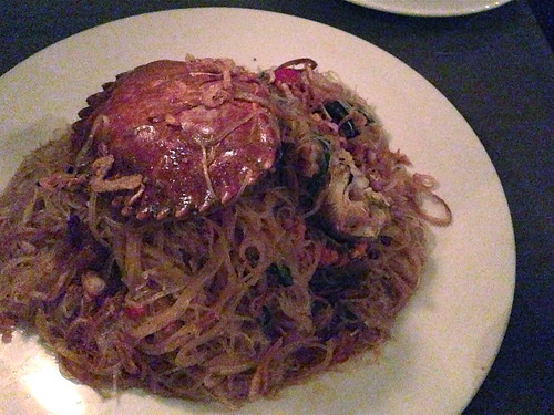 Dungeness Crab Noodles at The Spice Table