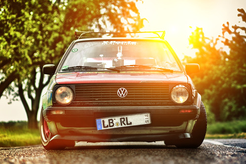 VW Golf MK2 CL Ratte Hoodride by Ronny Light Photography