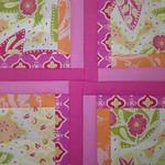 2 - Mary - Orange & Pink