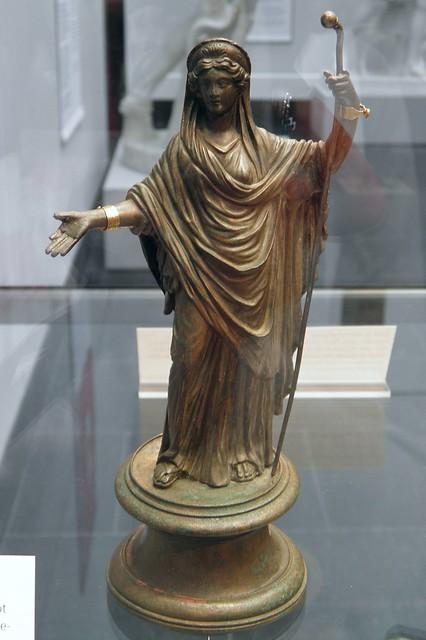 Bronze statuette of Juno Regina, 2nd half of 2nd century AD, Staatliche Antikensammlungen, Munich