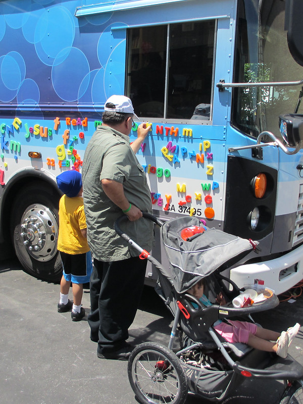 Reading is magnetic at the San Mateo County Fair
