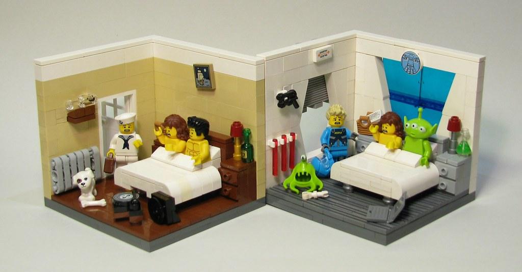 LEGO contest - Honey, I'm home!