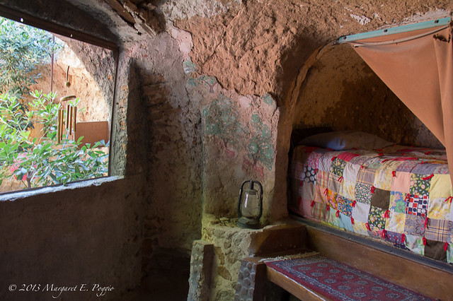Summer Bedroom at Forestiere Underground Gardens