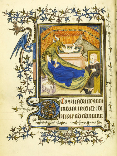 010-Horae Beatae Virginis Mariae…65v- Biblioteca Nacional de Varsovia