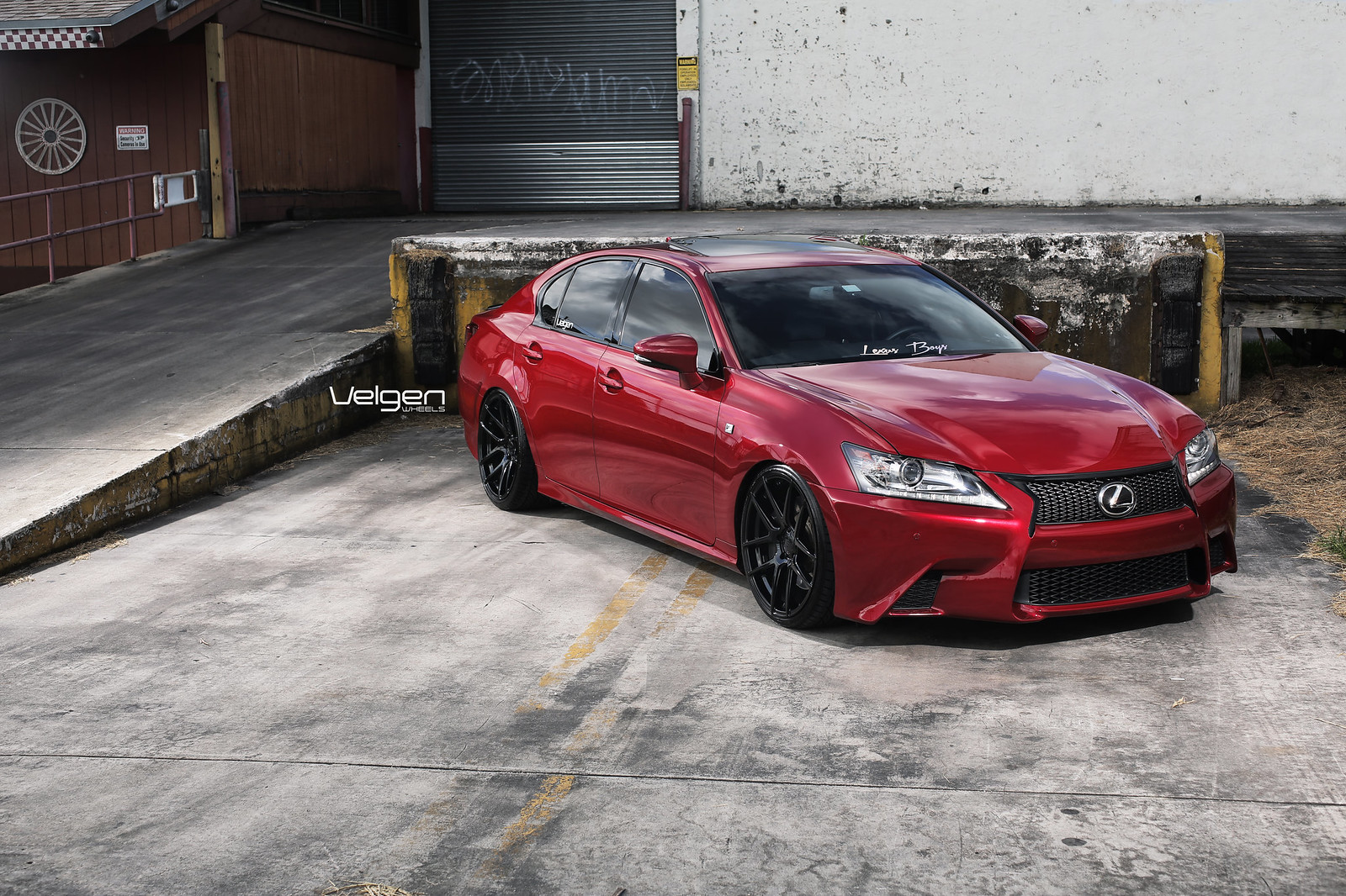 2013 Lexus GS350 F Sport Velgen Wheels Beautiful