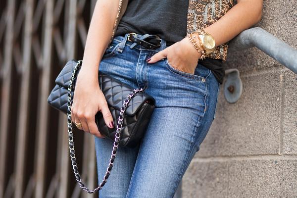 Chanel East West, Michael Kors watch, San Diego fashion blogger