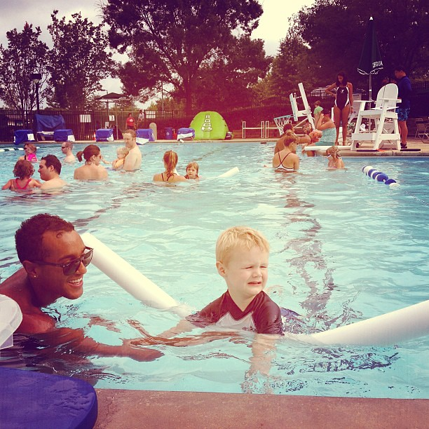 Swim lessons #ymca