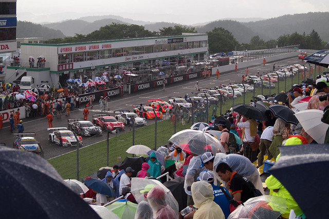 Super GT 4 after the race