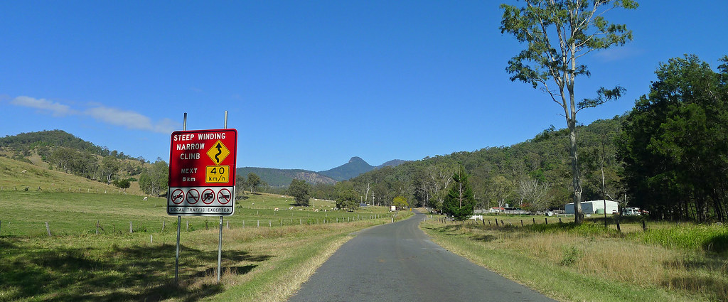 Mt Lindsay from The Head Road