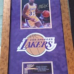 Magic Johnson Autographed Framed