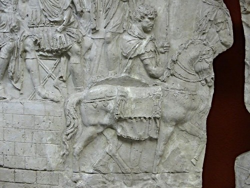 Cavalryman on cast of Trajan's Column