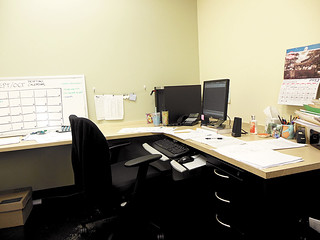 Desk - midday. #weekinthelife