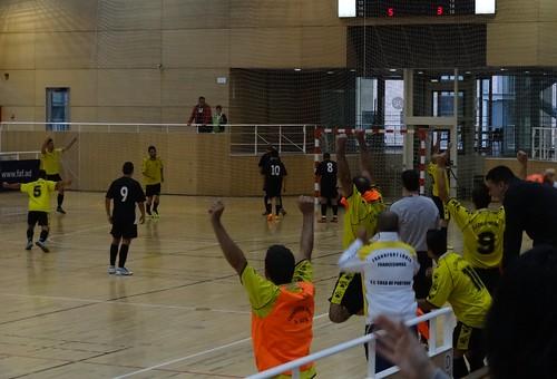Semi-final of Andorran futsal cup: Casa Portugal v UE Extremenya.