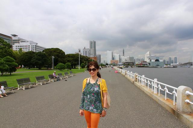 山下公園で /Yamashita park