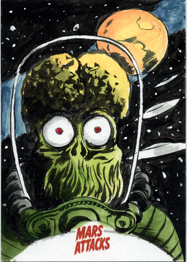Mars Attacks: Invasion Sketch Cards